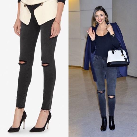dced9b957a1 Frame Denim Jeans | Frame Le High Skinny Distressed Gray | Poshmark